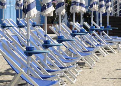 09/06/2008 Rapallo  spiaggia vuota bagni Lido